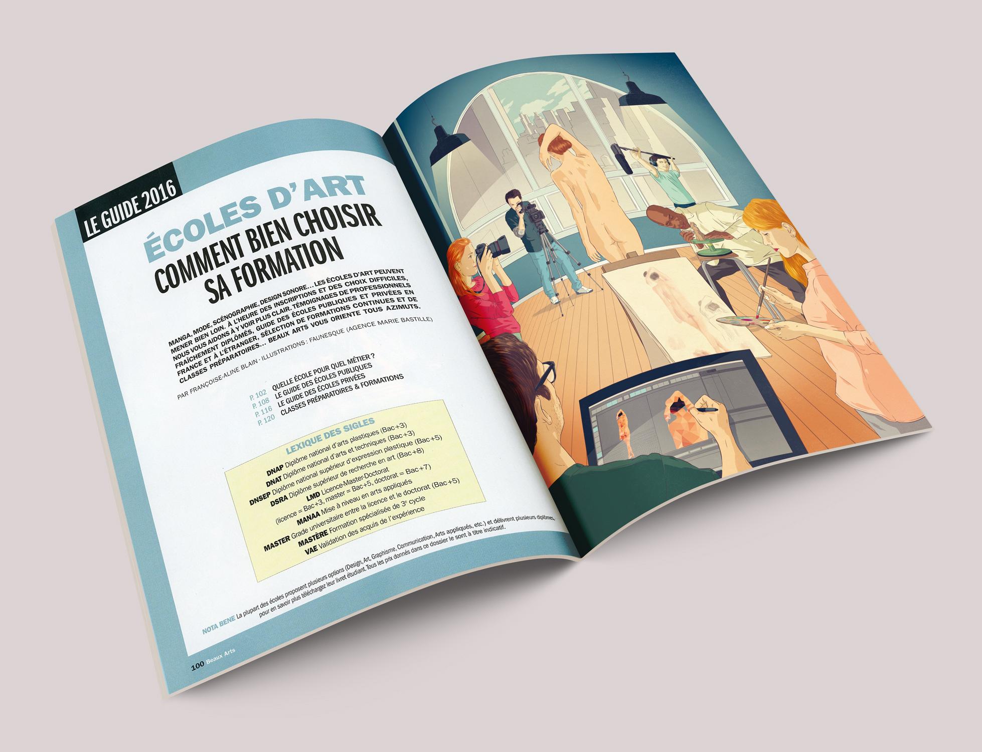 faunesque beaux art magazine agence marie bastillemarie bastille. Black Bedroom Furniture Sets. Home Design Ideas