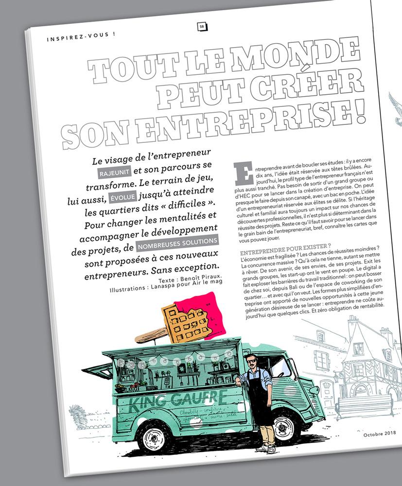 David Lanaspa – Agence Marie Bastille